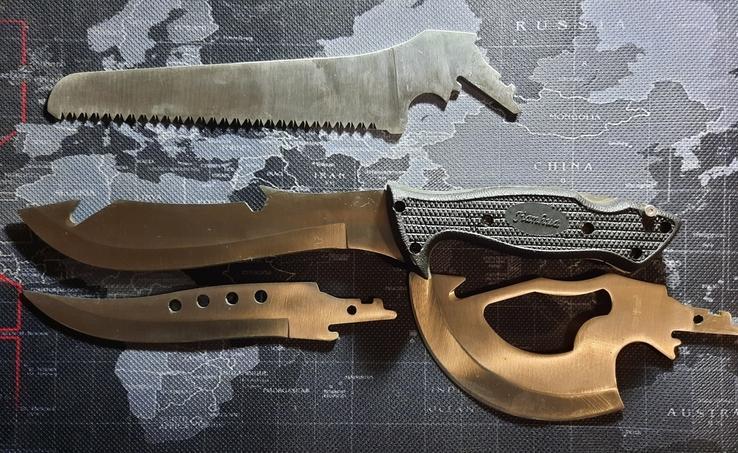Нож со сменяемеми лезвиями, фото №4
