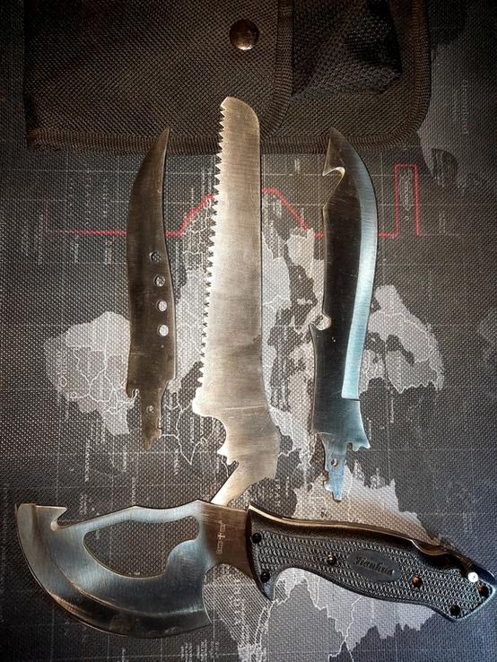 Нож со сменяемеми лезвиями, фото №2