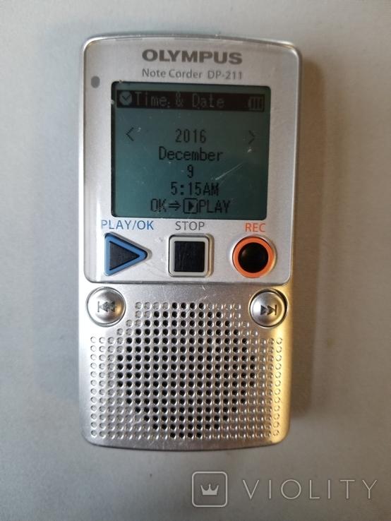Диктофон OLYMPUS DP-211, фото №2