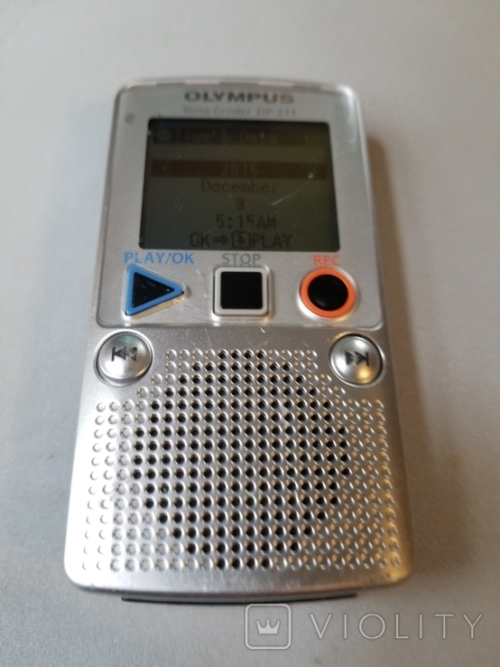 Диктофон OLYMPUS DP-211, фото №3