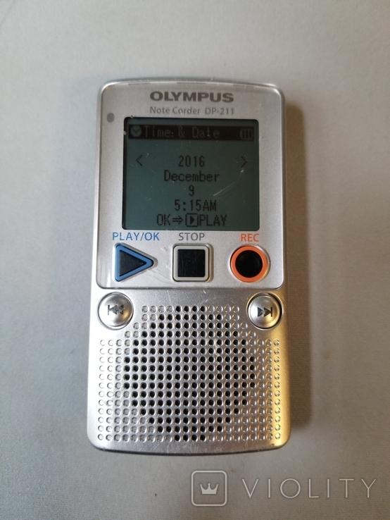 Диктофон OLYMPUS DP-211, фото №4