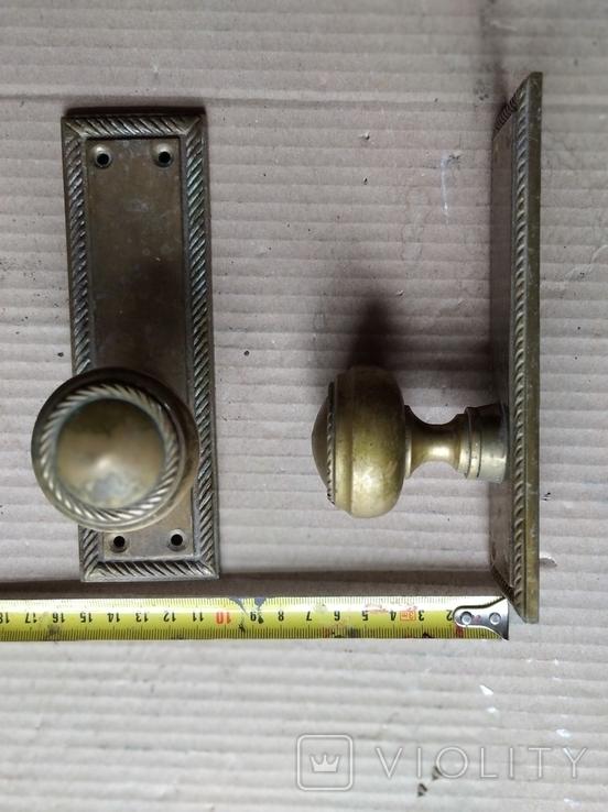 Дверные ручки. Латунь., фото №6