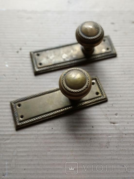 Дверные ручки. Латунь., фото №7