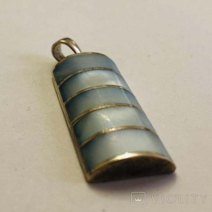 Кулон подвеска серебро 925 пробы 7.4 грамма, фото №8