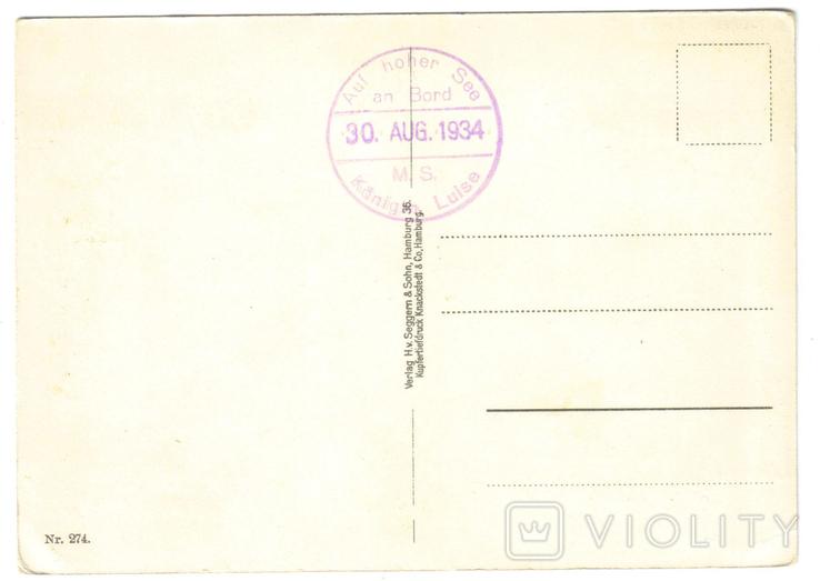 Открытка Германия 1930-1945 № 14, фото №3