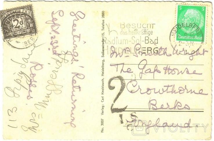 Открытка Германия 1930-1945 №25, фото №3