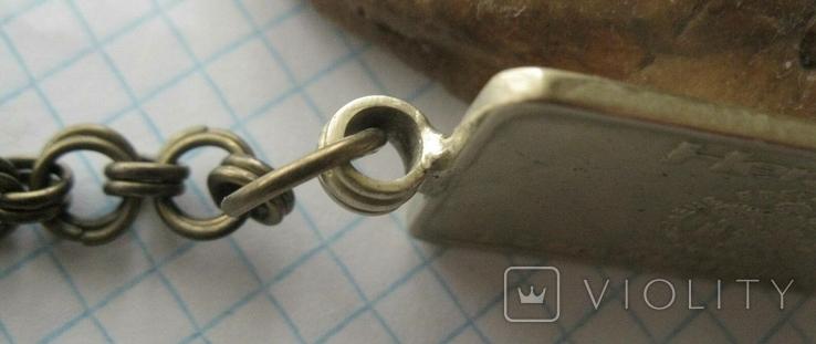 Брелок у вигляді унційного банківського золота  2, фото №5