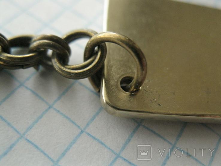 Брелок у вигляді унційного банківського золота  3, фото №5