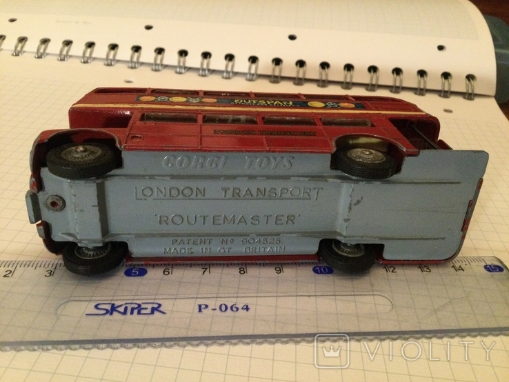 Автобус Двухэтажный Англия corci toys London transport  Routemaster, фото №5