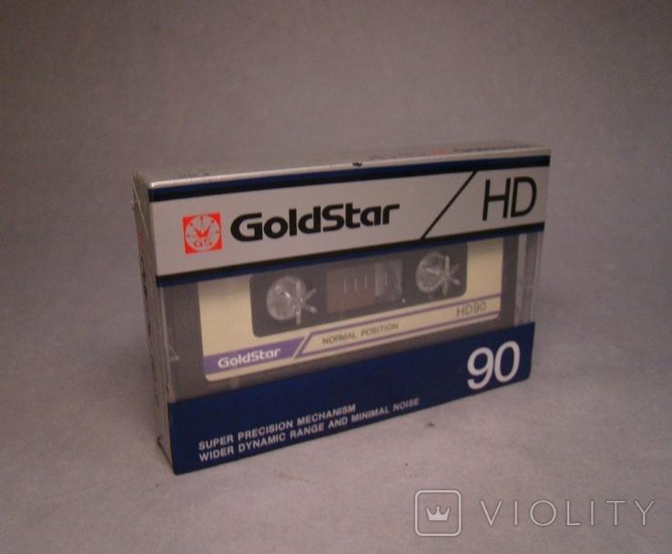 Аудио кассета Goldstar HD90, фото №2