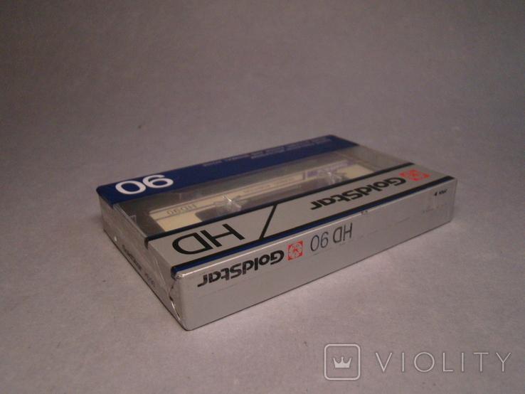 Аудио кассета Goldstar HD90, фото №4