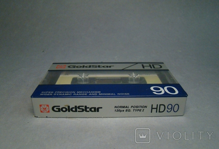 Аудио кассета Goldstar HD90, фото №8