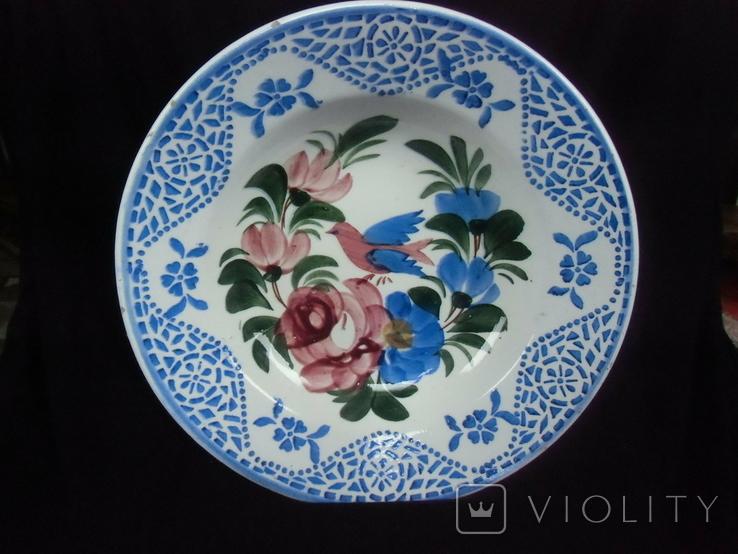 Старинная настенная тарелка №2 Австро-Венгрия, фото №2