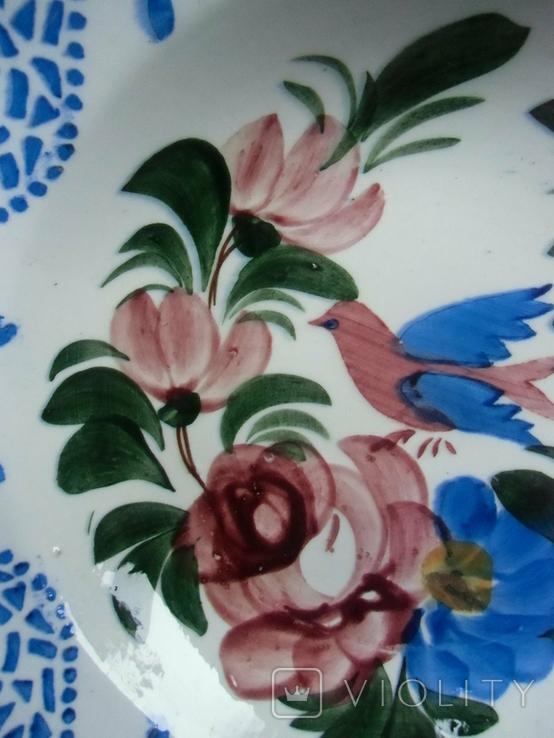 Старинная настенная тарелка №2 Австро-Венгрия, фото №6