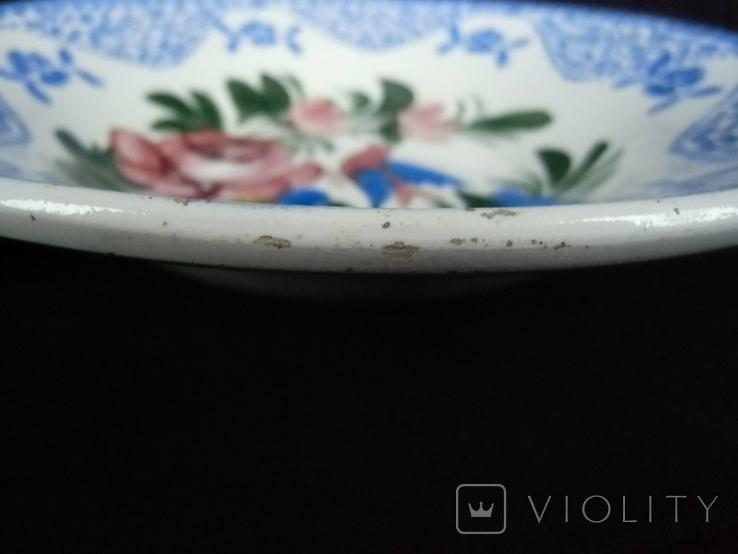Старинная настенная тарелка №2 Австро-Венгрия, фото №9