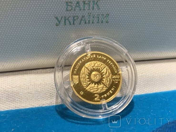 Монета Рыбы 2 грн., фото №3