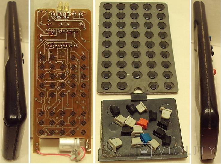 Пульт  Электрон 1-шт. и ЗиП(-плата+резина с клавишами), фото №3