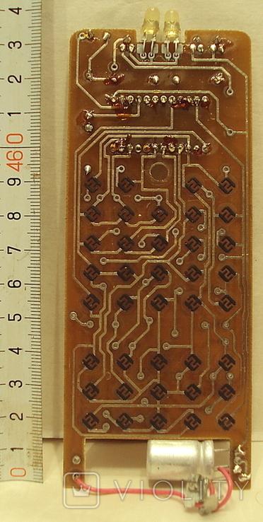 Пульт  Электрон 1-шт. и ЗиП(-плата+резина с клавишами), фото №6