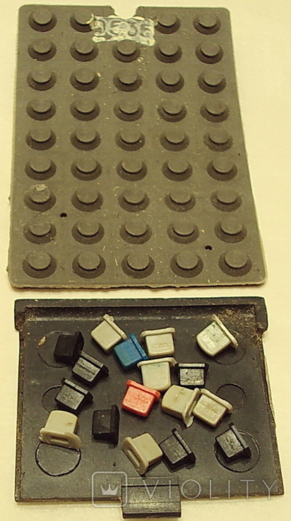 Пульт  Электрон 1-шт. и ЗиП(-плата+резина с клавишами), фото №7