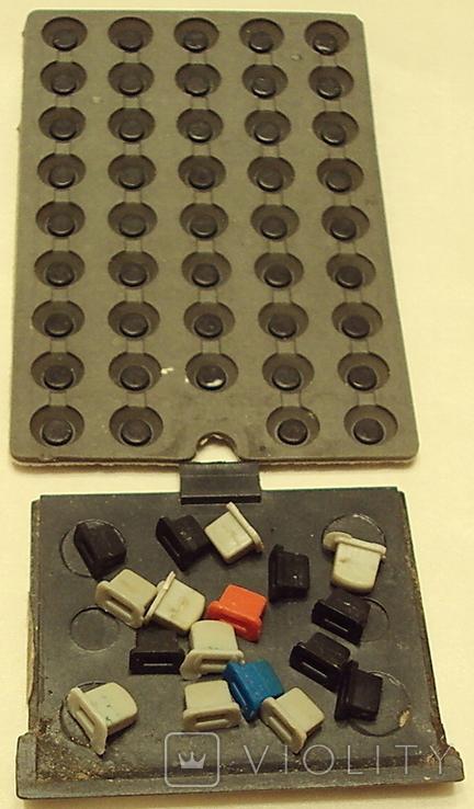 Пульт  Электрон 1-шт. и ЗиП(-плата+резина с клавишами), фото №8
