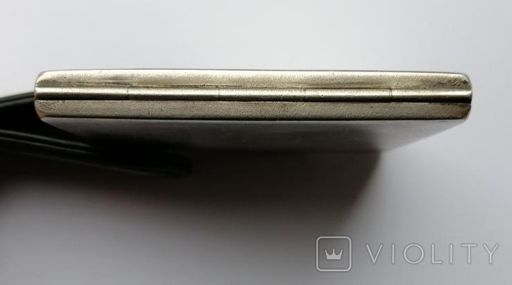 Серебрянная пудреница 875 пробы, фото №5