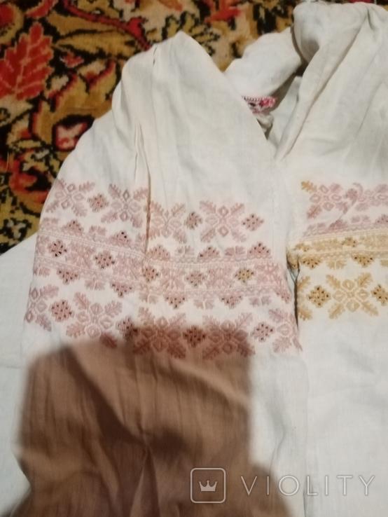 Сорочка з вирізуванням, фото №3
