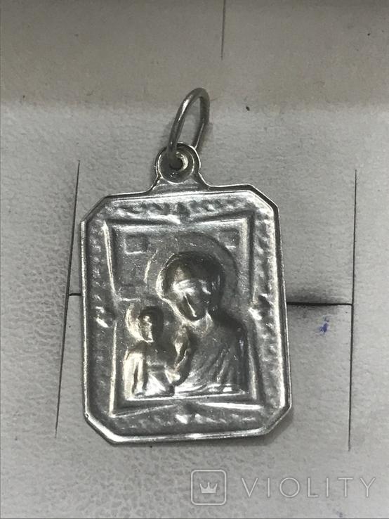 Ладанка Серебро, фото №3