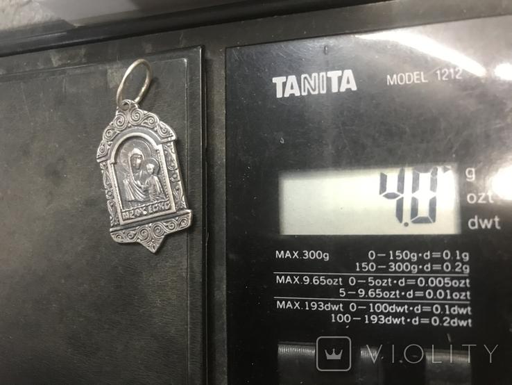 Ладанка Серебро, фото №4
