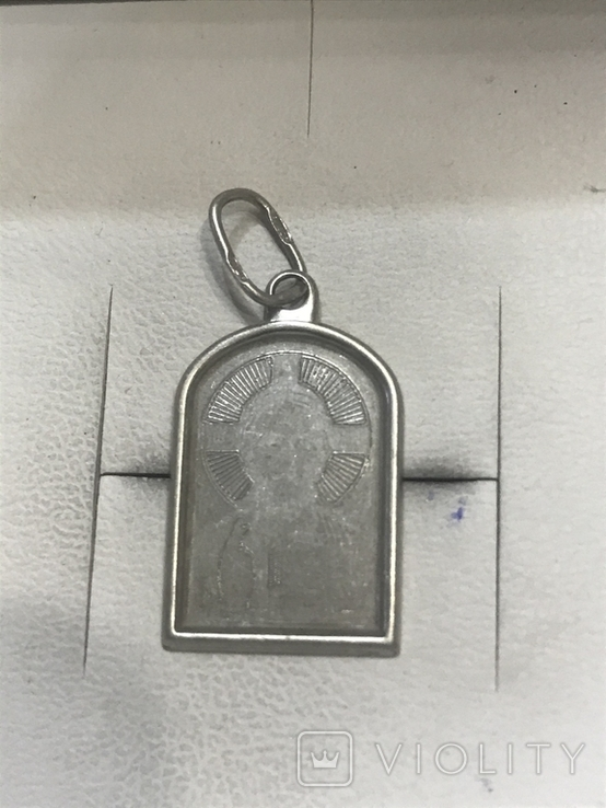 Ладанка Серебро, фото №2