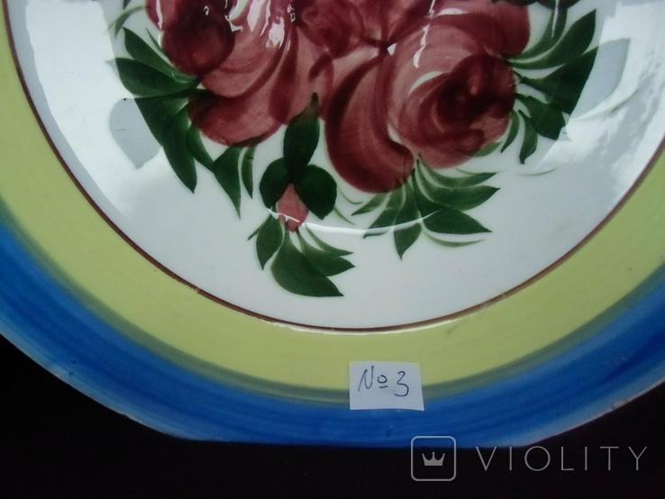 Старинная настенная тарелка №3 Австро -Венгрия., фото №3