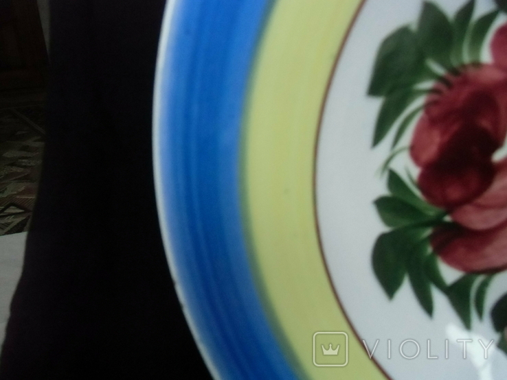 Старинная настенная тарелка №3 Австро -Венгрия., фото №7