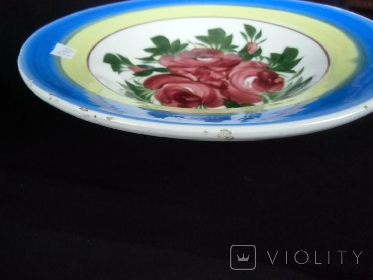 Старинная настенная тарелка №3 Австро -Венгрия., фото №9