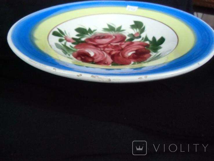Старинная настенная тарелка №3 Австро -Венгрия., фото №10
