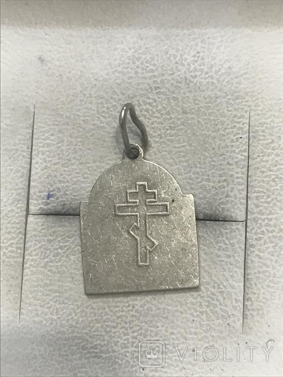 Серебро Ладанка, фото №3