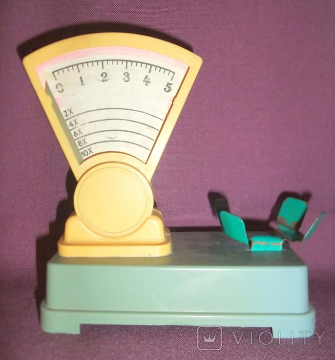 Весы - игрушка детская из СССР., фото №2