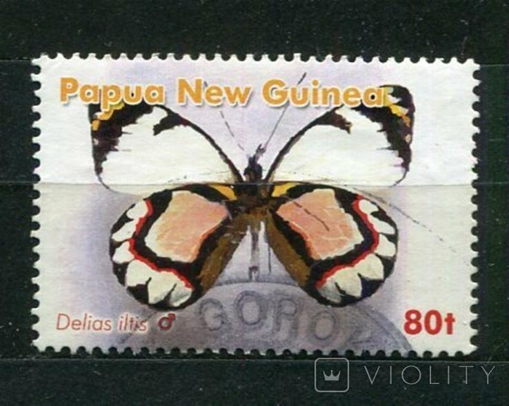 Папуа-Новая Гвинея, бабочка.