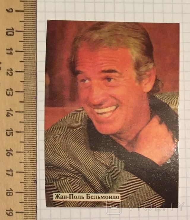 Жан-Поль Бельмондо, артист, 1990 г. / актор, фото №4