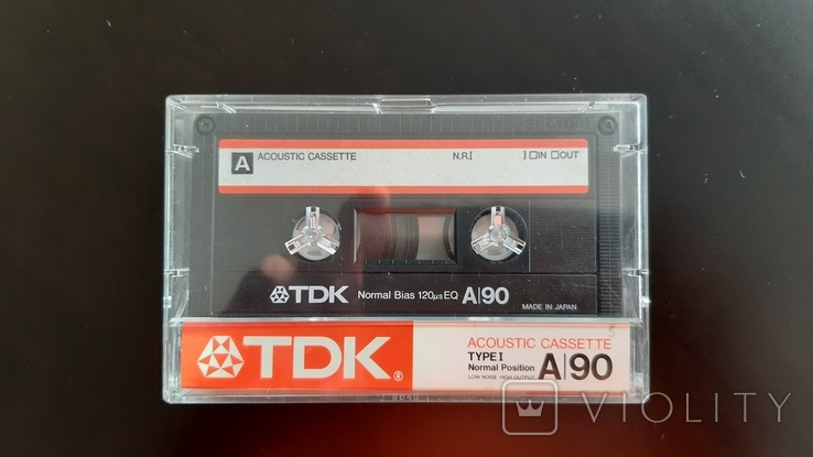Касета TDK A 90 (Release year 1986) №2, фото №2