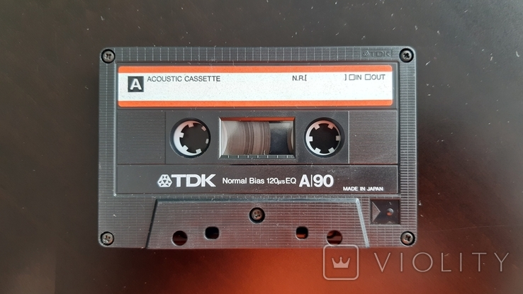 Касета TDK A 90 (Release year 1986) №2, фото №4