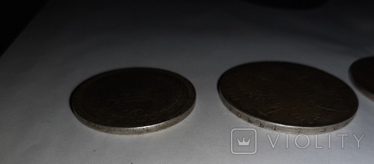 Копии рублей 3 шт., фото №4