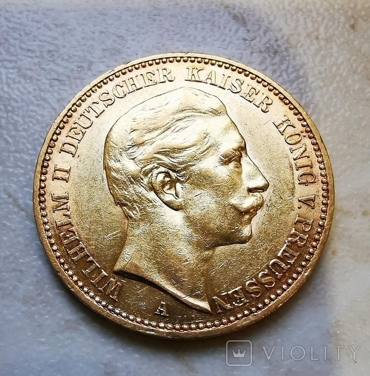 20 марок 1901г А