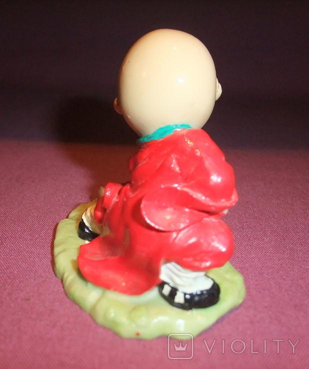Фигурка - миниатюра *Учёный самурай* сувенир из Японии., фото №4