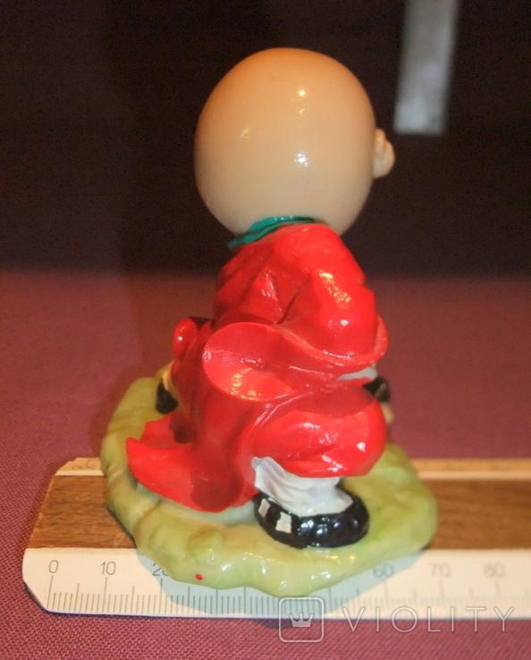 Фигурка - миниатюра *Учёный самурай* сувенир из Японии., фото №10