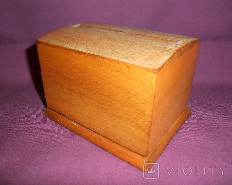 Сигаретница - папиросница. Дерево ручное изготовлоение., фото №3