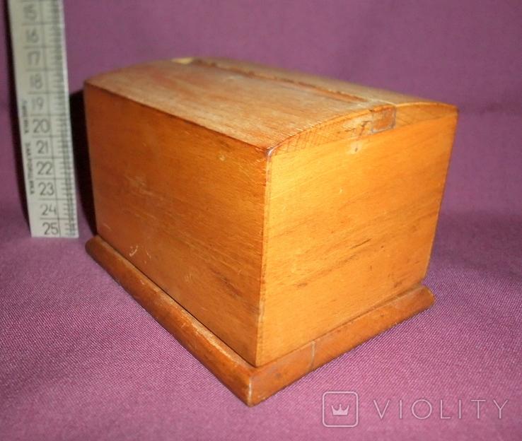 Сигаретница - папиросница. Дерево ручное изготовлоение., фото №5