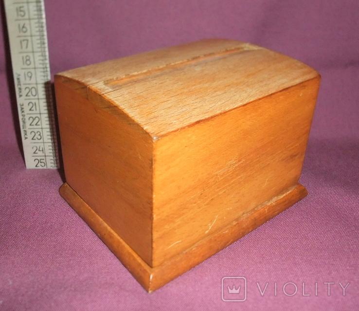 Сигаретница - папиросница. Дерево ручное изготовлоение., фото №6