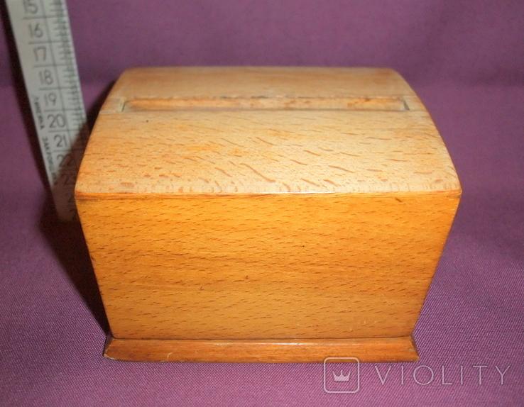 Сигаретница - папиросница. Дерево ручное изготовлоение., фото №2