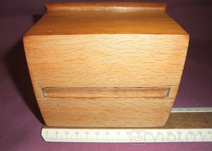 Сигаретница - папиросница. Дерево ручное изготовлоение., фото №7