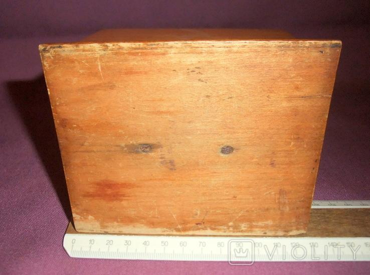 Сигаретница - папиросница. Дерево ручное изготовлоение., фото №9