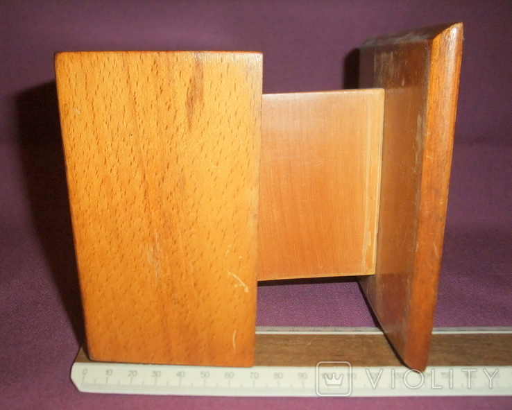 Сигаретница - папиросница. Дерево ручное изготовлоение., фото №10
